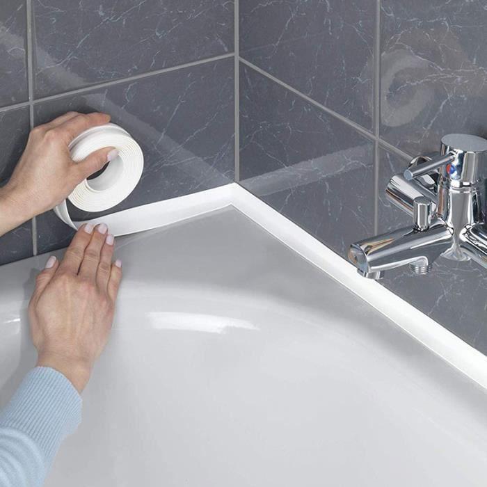 Refaire les joints de la douche